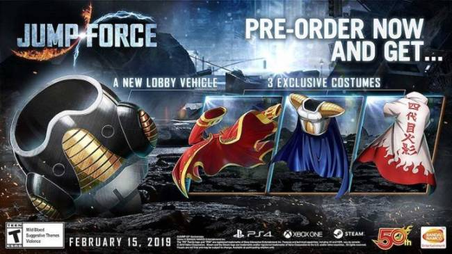 Jump Force Pre-Order And Release Date Guide (US)