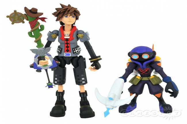 Toy Fair 2019: Kingdom Hearts 3 Sora And Hercules Figures Revealed