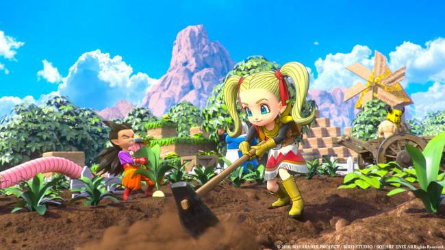 Dragon Quest Builders 2 Finally Gets A Release Date In The West