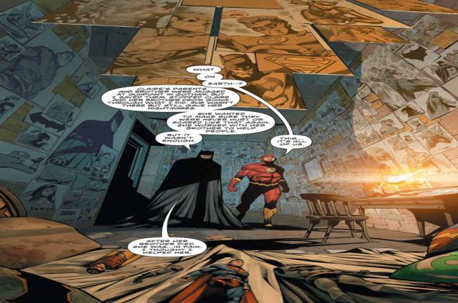 Batman And The Flash Face A Tragic Hero In DC Crossover Event