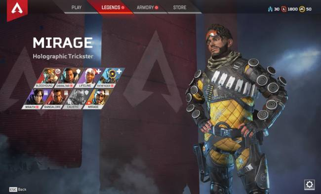 Apex Legends Mirage Tips & Guide: Tips On How To Be The Best Holographic Trickster