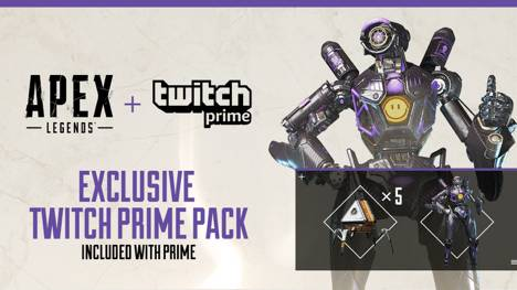 Free Apex Legends Skin And Loot Now Available With Amazon / Twitch Prime