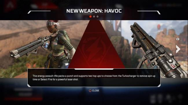 Apex Legends Update Adds Havoc, Its First New Gun--See It In Action