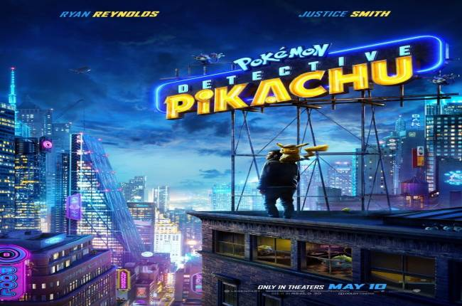 New Detective Pikachu Poster Is Hiding Lots Of Pokemon, Including Mewtwo