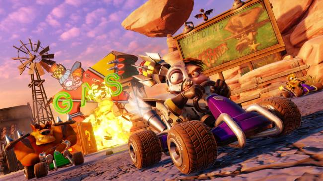 Crash Team Racing Is Shaping Up To Be A Fantastic Recreation Of The Original