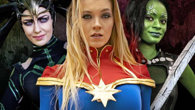 The Incredible Women of Marvel: Cosplay Edition