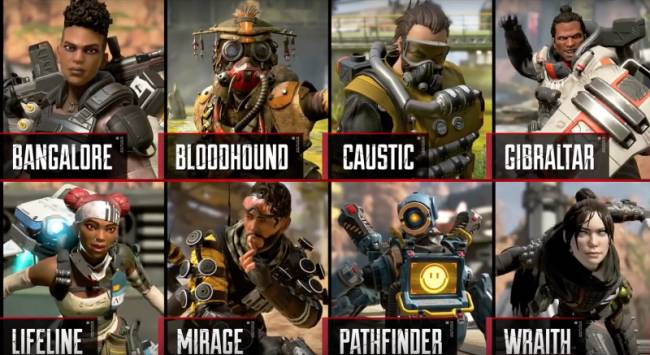 The Best Squad Builds In Apex Legends