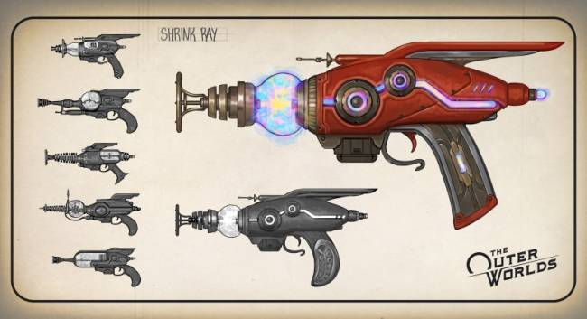 The Wildest Weapons In The Outer Worlds