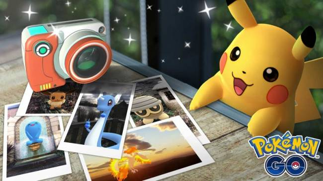 New Pokémon Go AR Snapshot Feature Coming Soon