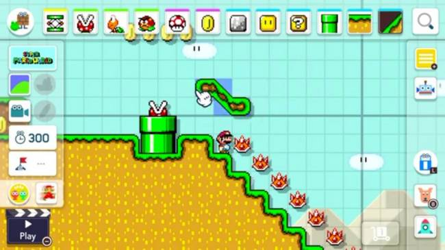 Mario Maker Is Heading To Switch