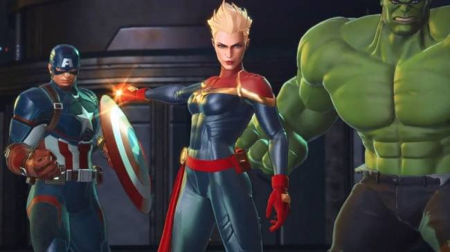 Captain Marvel Joins Roster For Marvel Ultimate Alliance 3, Out This Summer