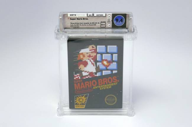 A Copy Of Super Mario Bros. Just Sold For Six Figures At Auction