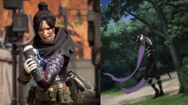 Apex Legends Draws Heavy Inspiration From Popular Anime