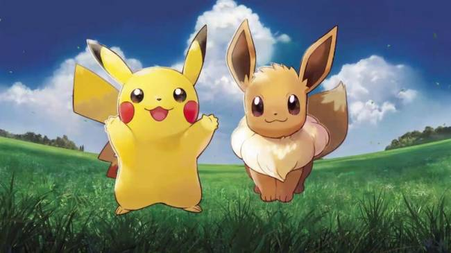 Pokémon: Let's Go, Pikachu And Let's Go, Eevee Demo Added To Nintendo Eshop