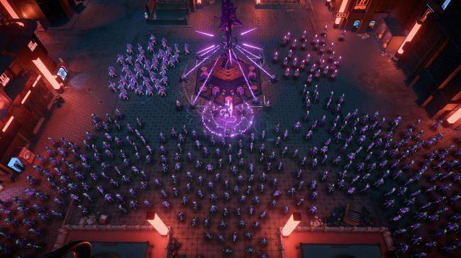 Cyberpunk RTS Re-Legion is out now