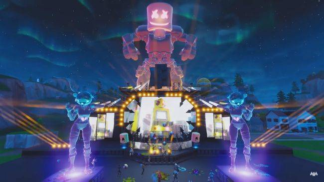 Over 10 million people allegedly watched a Marshmello concert live in Fortnite