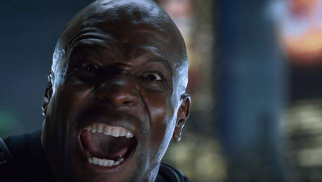 Terry Crews talks about motion capture acting in Crackdown 3