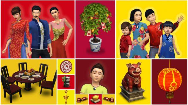 The Sims 4 adds new items to celebrate the Lunar New Year