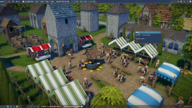 Medieval city builder Foundation now in Early Access, already has game-changing mods