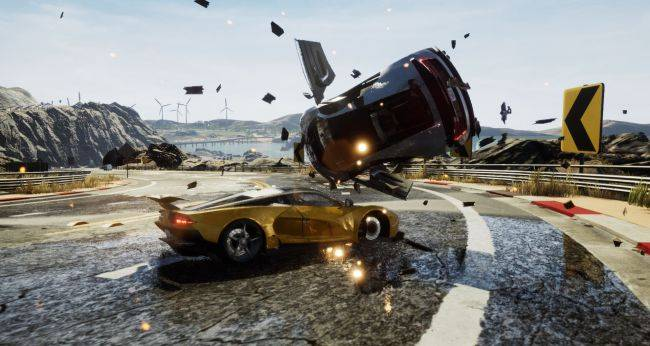 Dangerous Driving, a spiritual successor to Burnout, is coming to the Epic Store