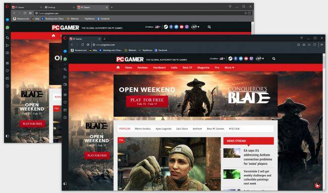 Opera's 'Reborn' browser makes the web an even darker place