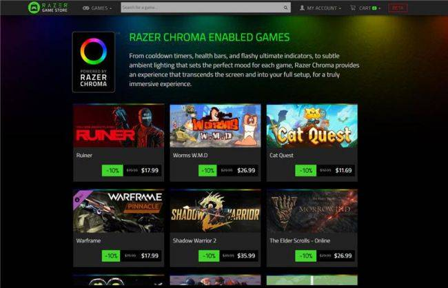 Razer shutting its digital game store this month, less than a year after it opened