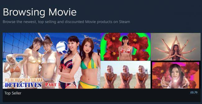 Steam is getting rid of all its non-gaming videos
