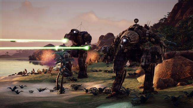 Battletech, the turn-based tactical game of mech combat, is free for the weekend