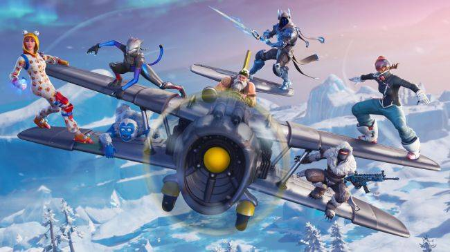 Fortnite's planes will be vaulted when Season 8 begins