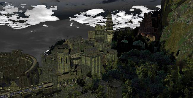 You can now explore Dark Souls' Lordran with no clipping, in your browser