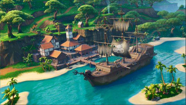 Where to find Fortnite's Pirate Camps