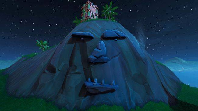 Where to find Fortnite's giant faces