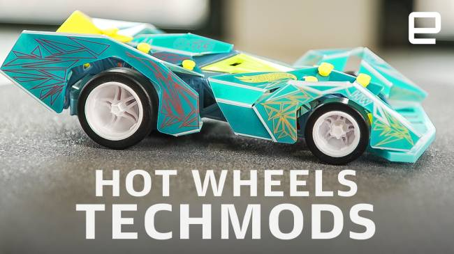 Hot Wheels' new TechMods are remote-control cars you build yourself