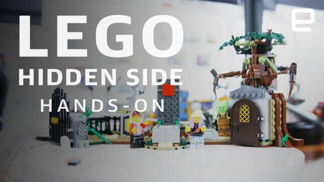 Lego's newest playsets are haunted by AR (update)