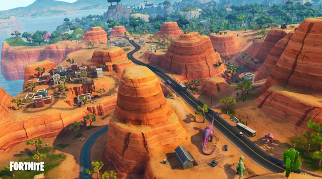 Fortnite: Where to Find a Dance Club or Racetrack