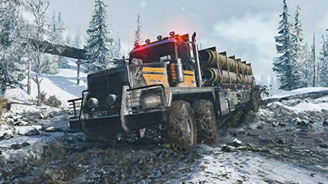 Spintires follow-up SnowRunners defrosts in time for an April release