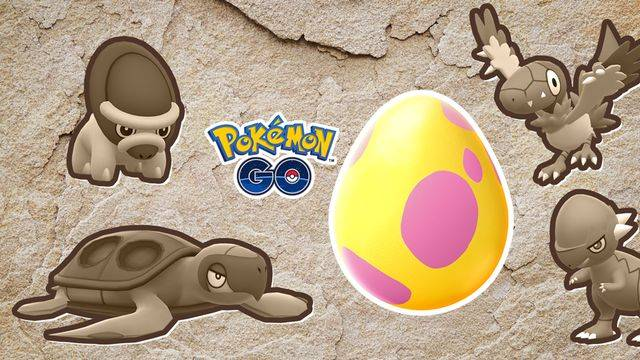 Pokémon Go's eggs are getting a fossil shake-up