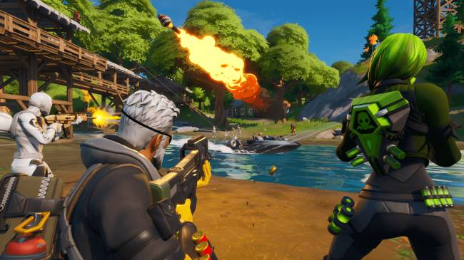 Fortnite Update 2.59 Released on PS4