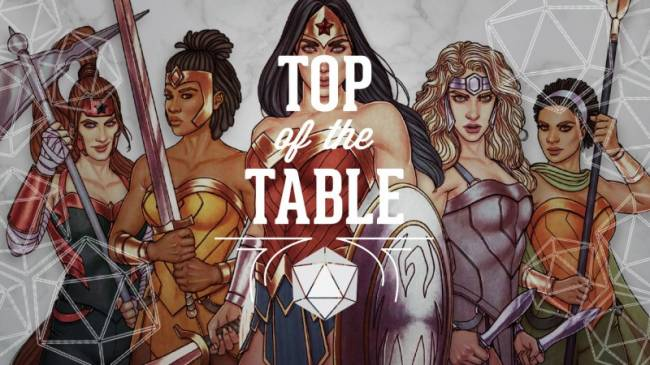 Top Of The Table – Wonder Woman: Challenge Of The Amazons