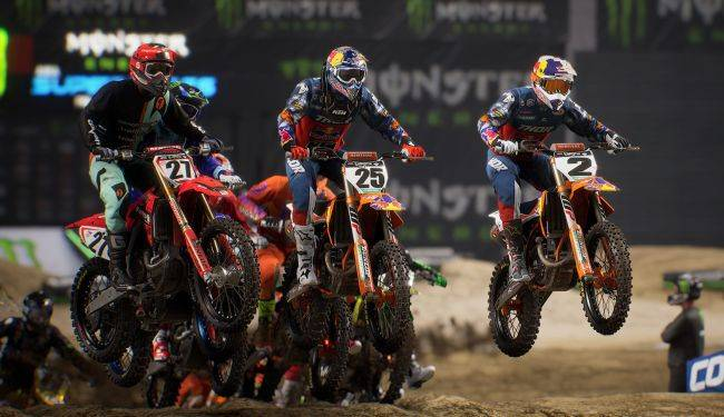 Stadia adds Monster Energy Supercross 3, but it costs more than it does on Steam