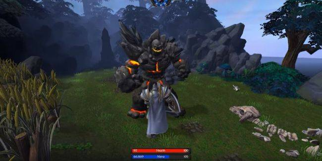 Here's what Warcraft 3: Reforged looks like as a third-person RPG