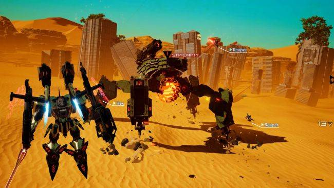 Mecha action game Daemon X Machina deploys on PC, and the port is great