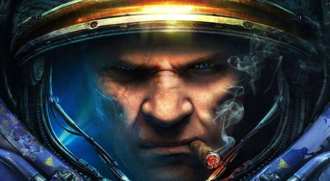 Here's footage from an abandoned StarCraft third-person console game