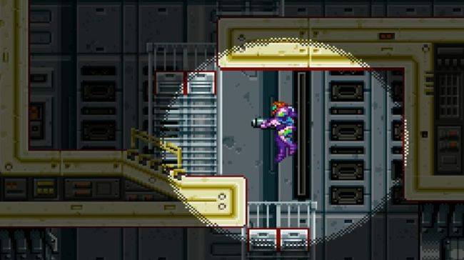 This re-creation of Metroid Fusion in Minecraft is very impressive