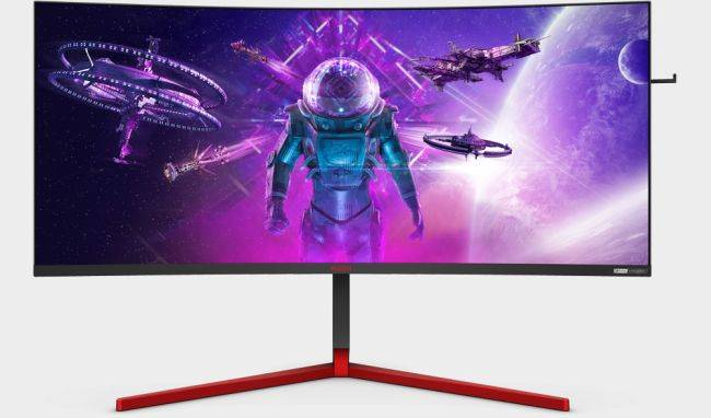 AOC launches a big and bright 35-inch 200Hz gaming monitor for £2,159