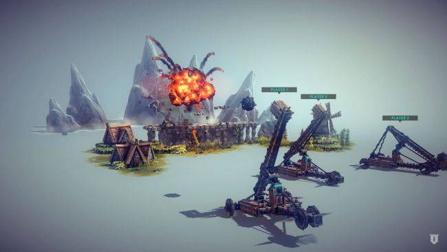 Wild siege weapon sandbox Besiege is 50% off for launch, so here are some GIFs