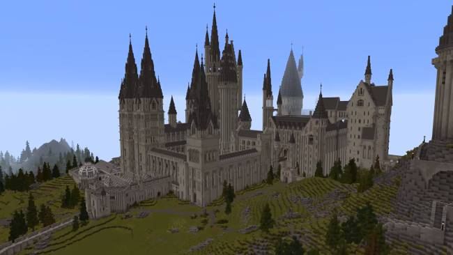 You can finally play that massive Harry Potter RPG in Minecraft