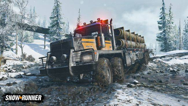 SnowRunner shows off new chilly environments and more stuck trucks