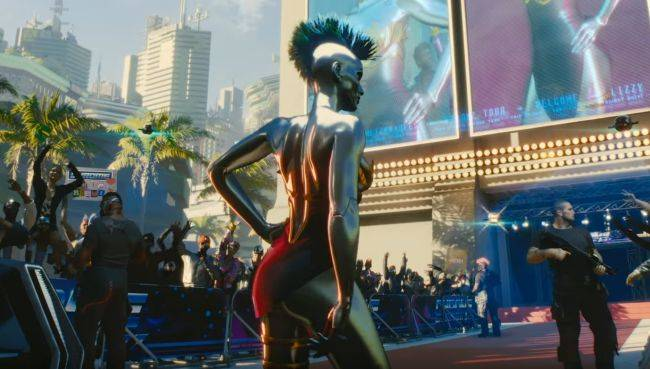 Grimes reveals how her Cyberpunk 2077 character became a solid chrome cyborg