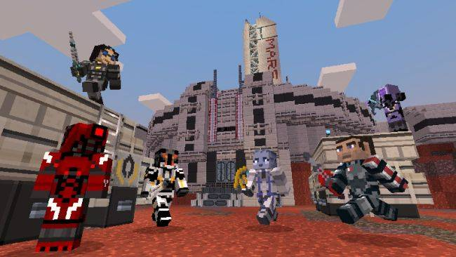 Play Mass Effect in Minecraft with this official pack
